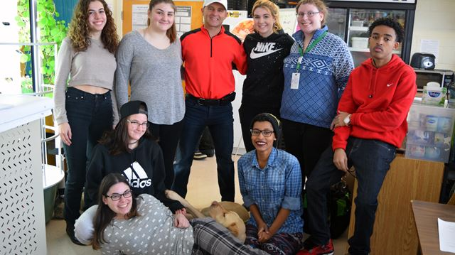 Every challenge has a silver lining, Kevin Frost tells students