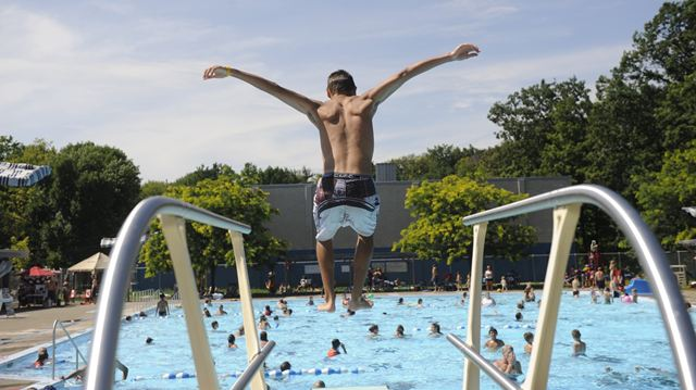 Burlington 39 S Mountainside Pool Opens July 12