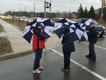 Day 1 of Durham public high school teachers strike