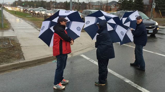 Day 1 of Durham public high school teachers strike
