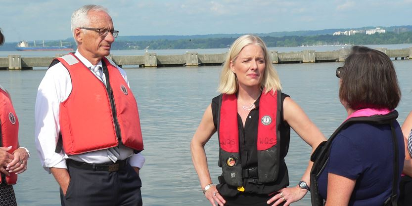 Federal Environment Minister Catherine McKenna announces $1 million for 10 Great Lakes projects
