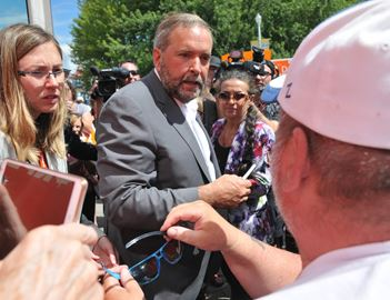 Tom Mulcair Visits Peterborough