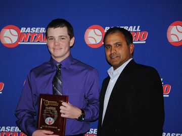 Egbert teen named Ontario rep baseball player of the year