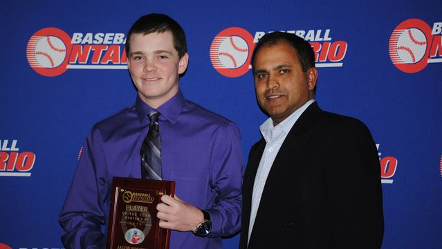 Egbert teen named Ontario rep baseball player of the year