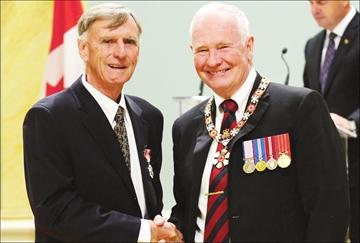 James Hugessen receives Order of Canada honour– Image 1