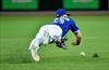 Blue Jays installing regulation dirt infield-Image1