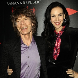 Sir Mick Jagger honours L'Wren Scott with costume-Image1