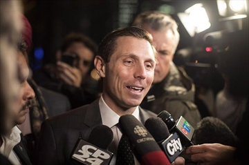 Patrick Brown has filed notice of libel to CTV News, which last month reported allegations of sexual misconduct that he has categorically denied. Ontario PC Leadership candidate Patrick Brown leaves the Ontario PC Party Head Offices in Toronto on Tuesday, February 20, 2018. THE CANADIAN PRESS/Chris Young