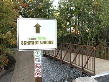 Schmidt Woods trail