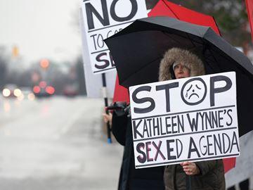 Sex Ed Protest