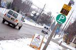 Orangeville radar signs