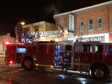 Fire breaks out in unoccupied Penetanguishene apartment