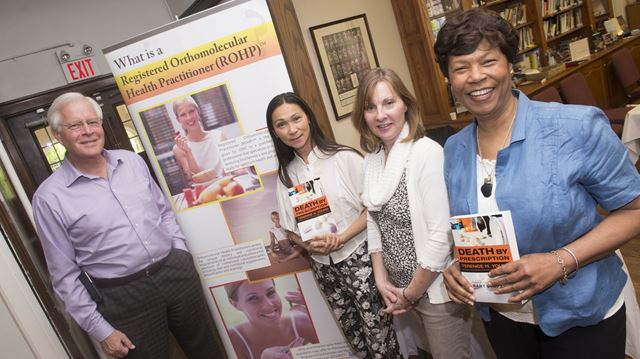 Health solutions of the 21st century featured at International Organization of Nutritional Consultants event