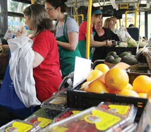 Fresh on wheels; MarketMobile delivers fresh fruits, veggies by bus– Image 1
