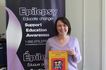 Education Coordinator for the Epilepsy and Seizure Disorder Centre of South Eastern Ontario, Claire Notman, will be visiting schools and teaching the new 'Thinking About Epilepsy Program'.
