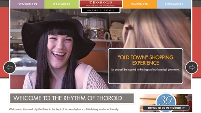 Tourism campaign stressed uniqueness of downtown Thorold