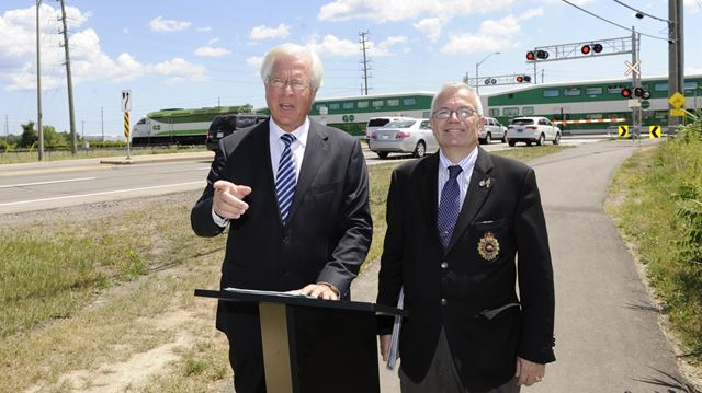 Feds and Province partnering to create underpass at Burloak Drive railway crossing