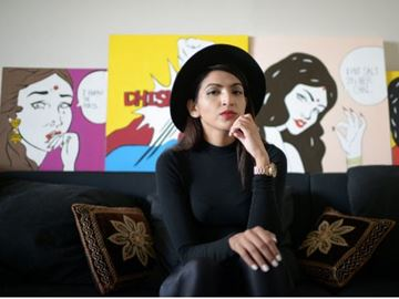 Maria Qamar will talk about the shame South Asian immigrant youth feel for wanting a career in the arts at the Shame, Shame event on Nov 28.