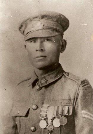 Cpl. Francis Pegahmagabow