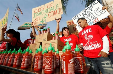 2-week truce for hot sauce maker, California city-Image1