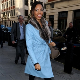 Rochelle Humes' daughter loves Marvin doll-Image1