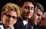 Wynne and Trudeau