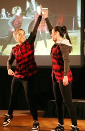 Heritage and Gazette editor Hollie Pratt-Campbell and her partner, Randi Kyle from TK Danceworx, took home both the best dance and people's choice awards