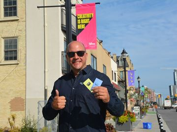 'Creative Capital of Canada' planting flags across Waterloo region:Movement aimed at celebrating a regional identity, fostering future endeavours