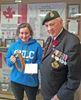 Algonquin Regiment bursary recipient