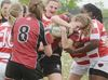Stouffville Romps Over Aurora in Girls Tier One Rugby