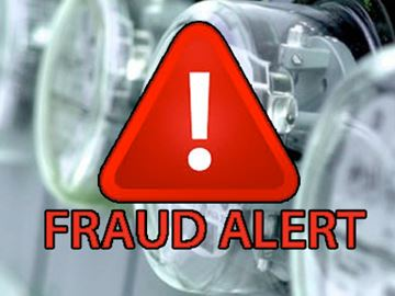 Hydro fraud alert