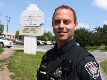 Const. Ryan McEachran of the MERIT pilot project