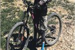 2015 Santa Cruz Bronson, black and pink