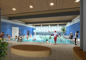 Public meeting on therapy pool for Pool show mississauga