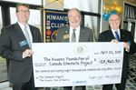 Kiwanis Club of Barrie gives to Eliminate Project