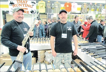 FAR RIGHT: Fishing equipment was in abundance at the annual Valley Fishing &amp