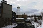 Smiths Falls' water tower.