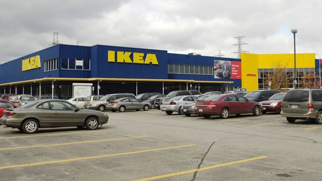 Province awards ikea canada 921k for 10 new ev charging for Ikea ontario canada
