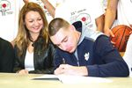 Nikola Djogo signs with University of Notre Dame