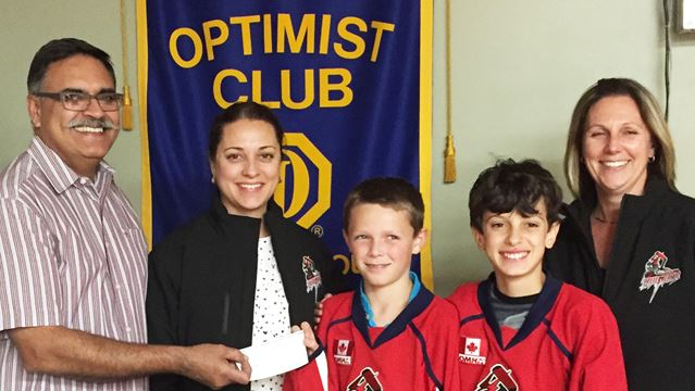 Optimists support