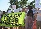 Black Lives Matter rally, 2016