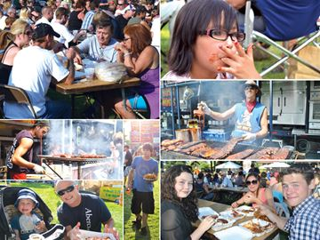 Ribfest a weekend of fun, food and fundraising