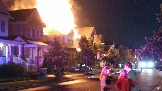 Lightning may have sparked Swindale Drive blaze