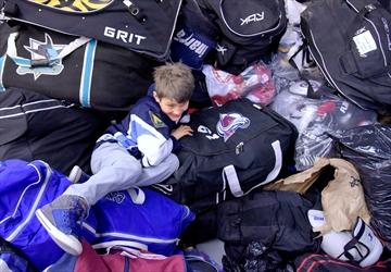 Rotary Etobicoke hockey equipmen