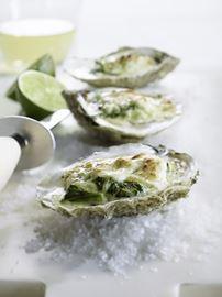 Sambuca Oysters au Gratin