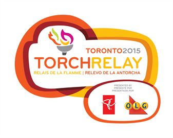 Toronto 2015 Pan Am torch arrives in Downtown Oakville June 23