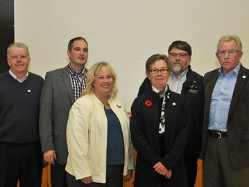 Clearview Township's councillors-elect