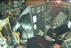 VIDEO: Gun shop break-in