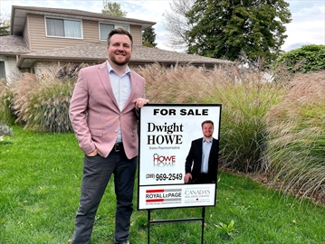 Dwight Howe is a realtor with Royal LePage.