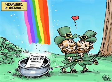 Ireland cartoon